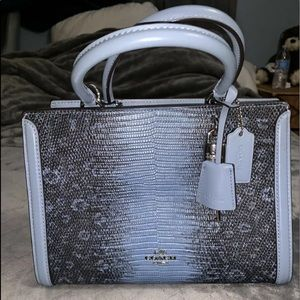 Coach Sv Cornflower. With Tags. F72664